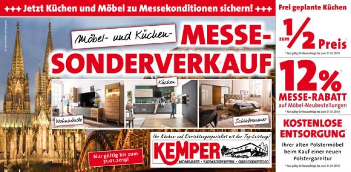 Möbel- und Küchen- Messe- Sonderverkauf